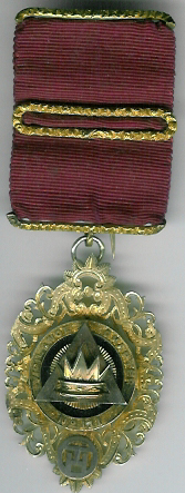 TH660-0111 Victorian hallmarked PZ jewel from Chapter of Vigilance No. 111.-0