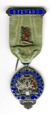 TH276 Royal Masonic Institution for Boys 1895 Stewards jewel.-0