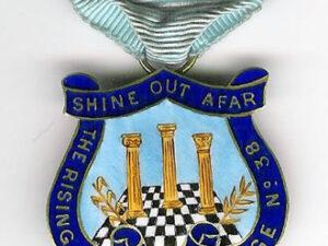 Rising Star Lodge No. 38 Past Master's jewel HFAF-0