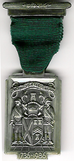 TH251c The 250th Anniversary of the Grand Lodge of Scotland 1736-1986-0