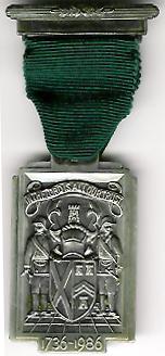 TH251c The 250th Anniversary of the Grand Lodge of Scotland 1736-1986-0