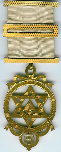TH601 (b) A special very large Victorian Royal Arch Chapter jewel by George Kenning-0