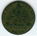 TH180 (06) The 1790 Sketchley Masonic Token.-0
