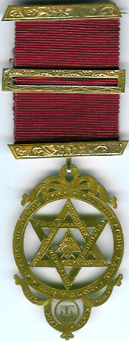 TH601 (a) The Thos. Moxon Royal Arch Jewel very large 1835.-0