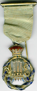TH276 Royal Masonic Institution for Boys 1898 Stewards jewel.-0