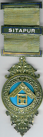 TH453-2288 Sitapur Lodge No. 2288 Past Masters jewel-0