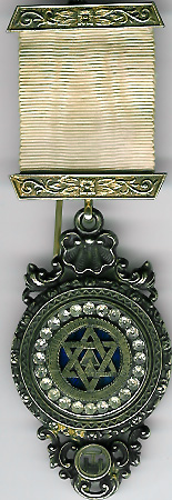 TH604 Large Royal Arch Chapter jewel with brilliants-0
