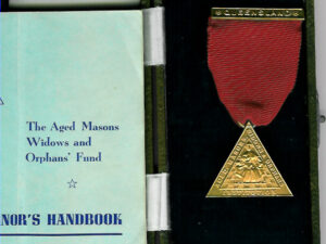 Australia Life Governor Aged Masons Widows and Orphans fund.-0