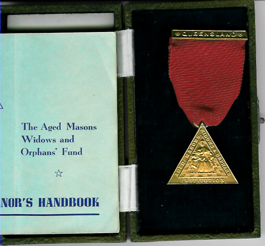 Australia Life Governor Aged Masons Widows and Orphans fund.-0