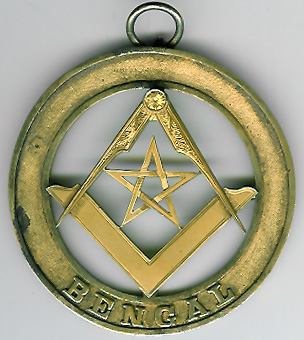 TH582-DGM The 1911 Bengal District Grand Master's jewel for Bengal -0