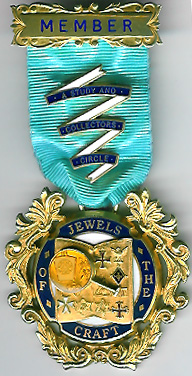 TH255 An original silver Founders jewel for Jewels of the Craft-0
