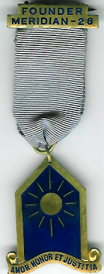 Founders Jewel for Meridian ladies lodge No.28.-0