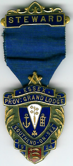 TH235 The 1924 Provincial Grand Lodge of Essex Festival jewel-0