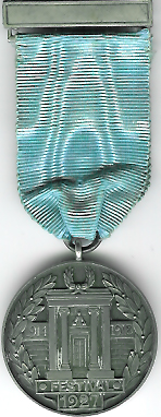 TH239 The 1927 Warwickshire Masonic Peace Memorial Temple jewel.-0