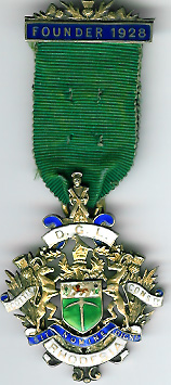 TH239A The Foundation Jewel for the District Grand Lodge of Rhodesia SC 1928-0