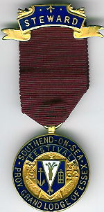 TH240 Provincial Grand Lodge of Essex 1932 Festival jewel-0