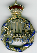 TH276 Royal Masonic Institution for Boys 1898 Stewards badge-0