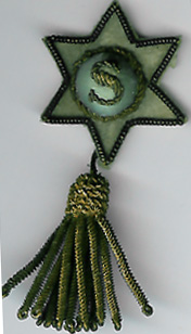 TH291b Masonic Festival Steward's Tassel Jewel Circa 1890-0