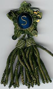TH291d gold Steward's tassel jewel from a Masonic Institution Festival.-0