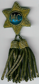 TH292a A Member of Committee tassel jewel from a Masonic Institution Festival.-0
