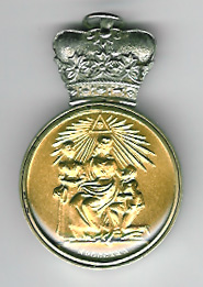 TH301fD 1830 Duke of Sussex charity jewel with special Duke's crown (Type D)-0