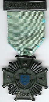 TH302 1872 The Punjab Masonic Institution Stewards jewel-0