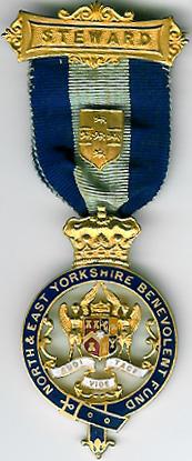TH312a N & E Yorkshire Benevolent Fund jewel-0
