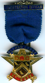 TH452-6428 Oldham Lodge No. 6428 Consecrating Officer's jewel -0