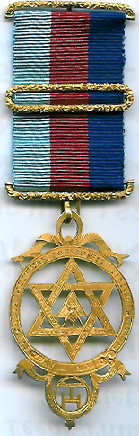 TH602 (c) Royal Arch Chapter large thinner style members jewel 1860-0