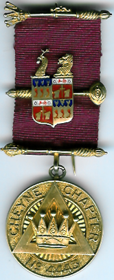 TH659-4443 Cheyne Chapter No. 4443 PZ jewel-0