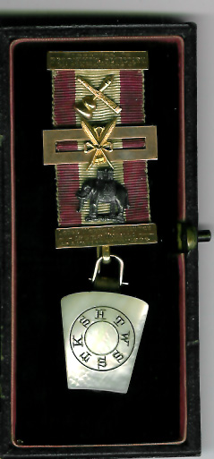 TH718A-193 Very special 1906 gold Secretary's personal jewel Lodge Worthy Apprentice No. 193 EC-0