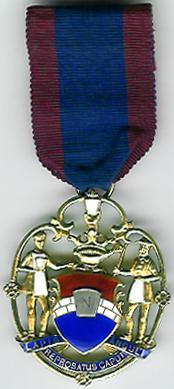 TH731 The pierced Mark Keystone silver charity jewel.-0