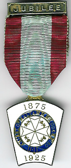 TH755-0030 50th Jubilee Jewel for Knight of Malta Mark Lodge No. 30.-0