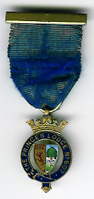 Miniature Scottish Members Jewel for The Princes Lodge No. 607SC-0