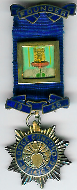 Scotland Lodge Concord No. 1416 Founders Jewel-0