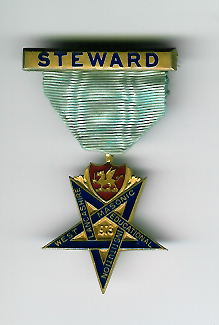 TH304 1903 West Lancashire Masonic Educational Institution Steward's jewel.-0