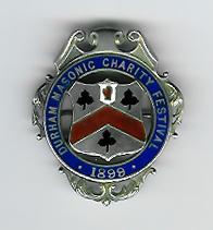 TH320a Durham Masonic Festival 1899 Steward's jewel-0