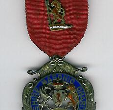 TH324 The 1901 Cheshire Masonic Charities Steward's jewel.-0