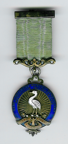 TH328 The 1910 East Lancashire Masonic Benevolent Institution silver Stewards jewel-0