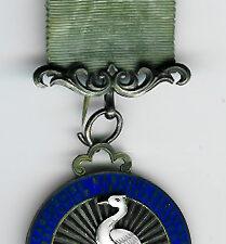 TH328a The 1915 East Masonic Masonic Benevolent Institution silver Steward's jewel.-0
