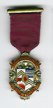 TH335-1928 The Province of South Wales 1928 Masonic Benevolent Fund jewel-0
