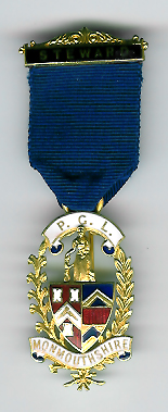 TH341a The Provincial Grand Lodge of Monmouthshire Stewards Jewel.-0