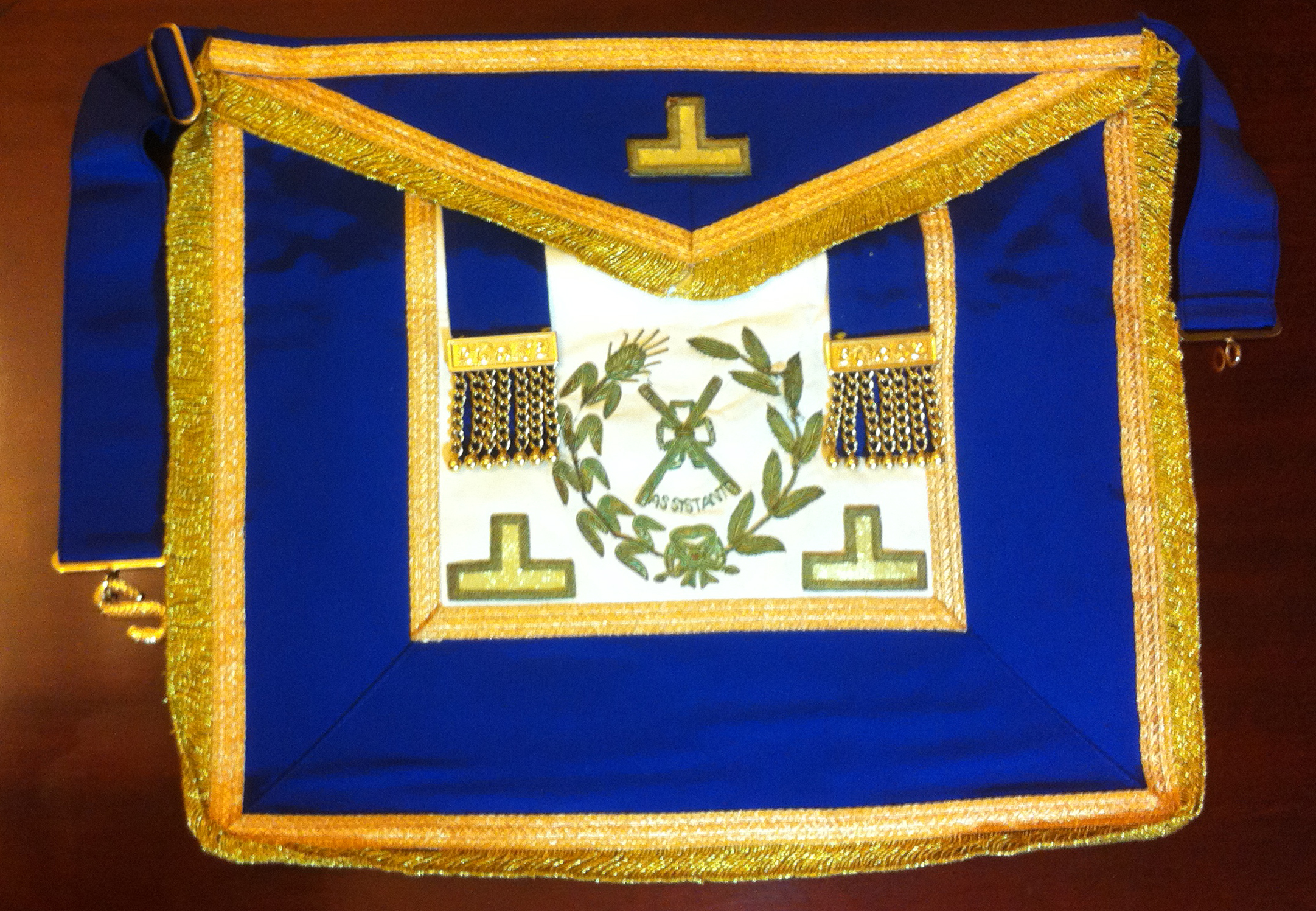 Past Assistant Grand Director Of Ceremonies Craft Dress Apron-0