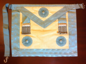 Craft Master Mason's Lambskin Apron -0