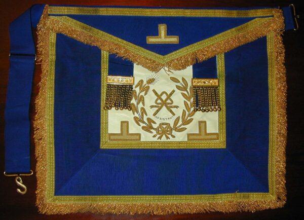 Past Assistant Grand Director Of Ceremonies Craft Dress Lambskin Apron-0