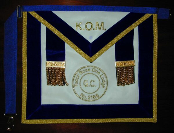Royal Antediluvian Order Of Buffaloes K.O.M Apron By Toye Kenning & Spencer-0