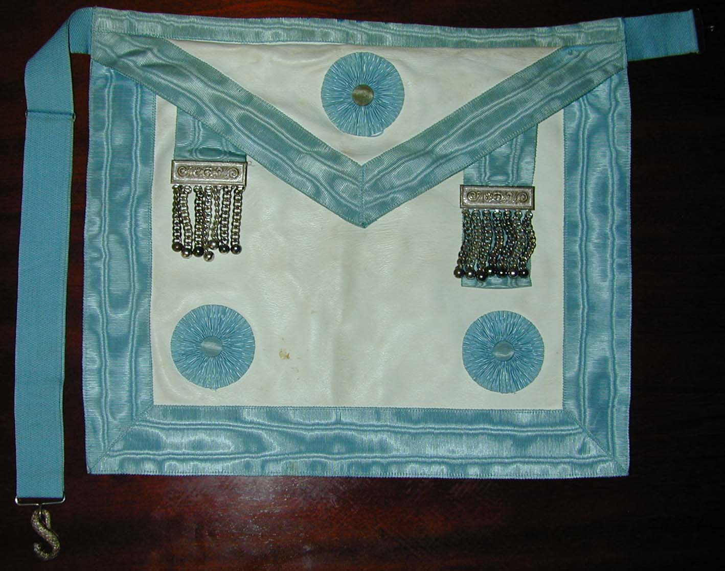 Craft Master Mason's Lambskin Apron By George Kenning & Sons-0