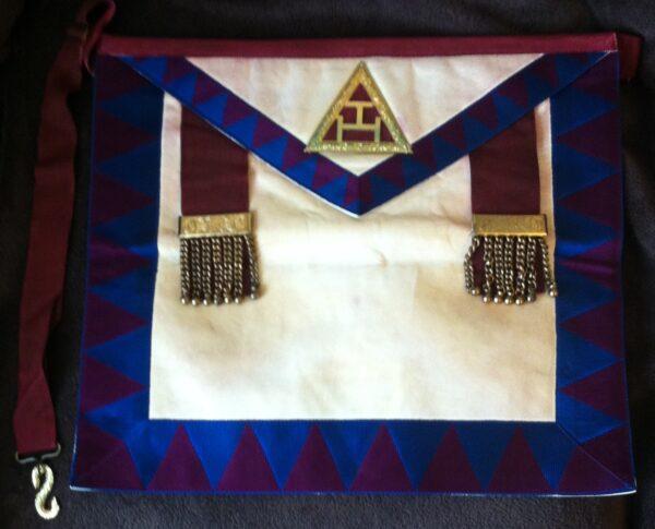 Royal Arch Principles Lambskin Apron-0