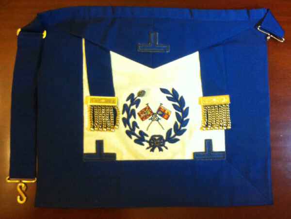 Craft Grand Officers Standard Bearer Undress Apron Lambskin-0