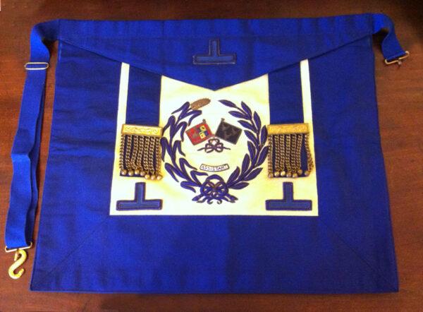 Craft Grand Officers Standard Bearer Undress Apron Lambskin-0